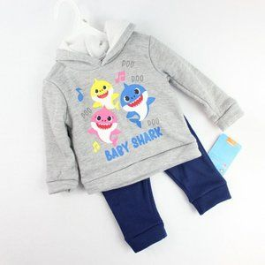 Nickelodeon Pink Fong Baby Shark 2 Piece Outfit